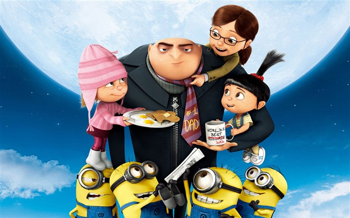Despicable Me 2 Movie Widescreen HD Wallpaper Views:3813