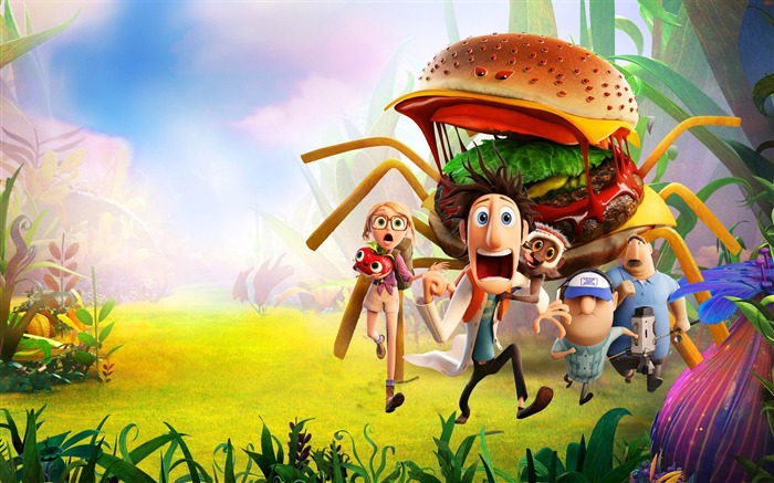 cloudy with a chance of meatballs-Movie HD Wallpaper Views:3681