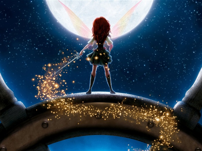 disney the pirate fairy-Movie HD Wallpapers Views:3383