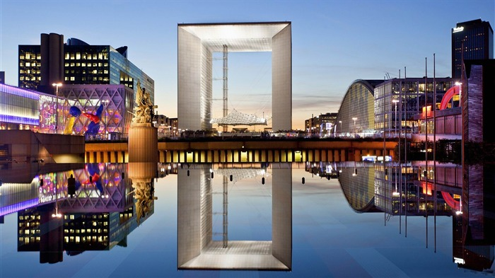 grande arche defense paris-HD photography wallpaper Views:5425 Date:1/11/2014 11:05:50 PM