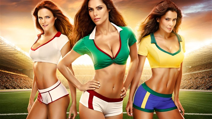 2014 Brazil World Cup football baby sexy wallpaper 10 Views:3639
