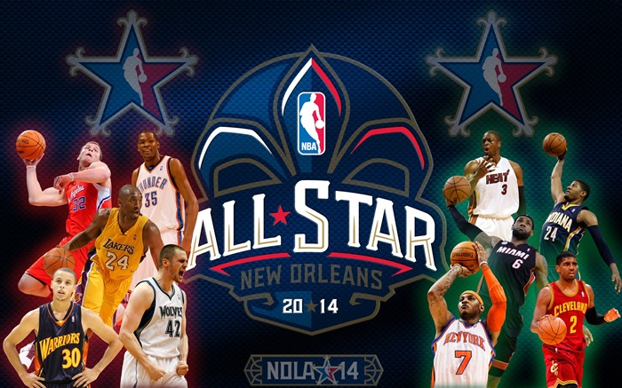 2014 NBA All-Star Game HD Desktop Wallpaper Views:12715