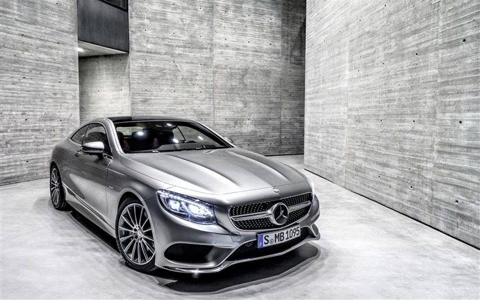 2015 Mercedes-Benz S-Class Coupe Auto HD Wallpaper Views:16525