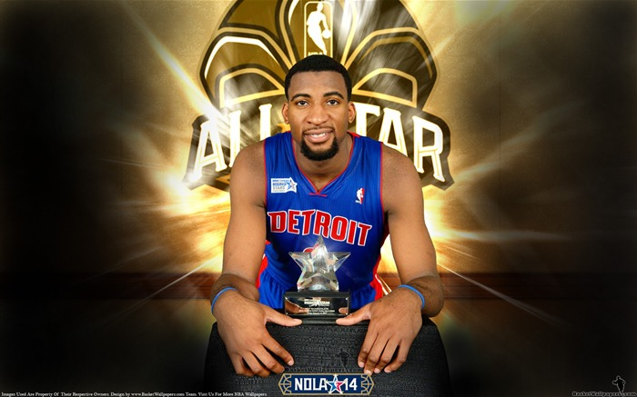 Andre Drummond MVP-2014 NBA All-Star Game HD Wallpaper Views:4851