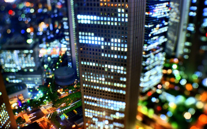 Dream Tokyo Japan bokeh Photography wallpaper Views:7383