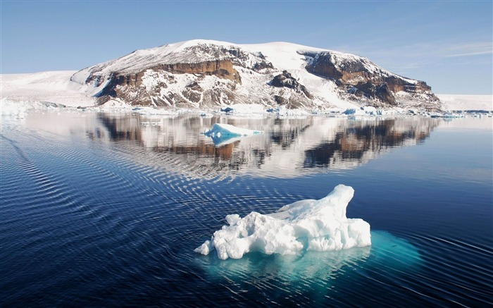 iceberg ice floe drift coast-Photo Wallpaper Views:3201