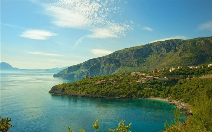 italy coast sea serenity-Photo Wallpaper Views:2964