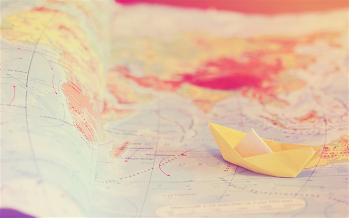 travel map tenderness boat-Macro photography wallpaper Views:2555