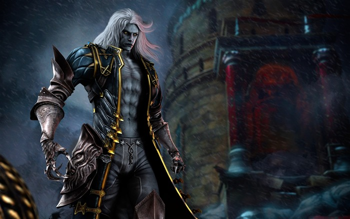 Castlevania Lords of Shadow-Game Wallpaper Views:4600