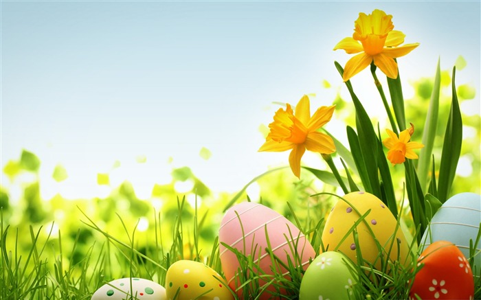 Happy Easter 2014 Holidays Desktop Wallpaper Views:10054