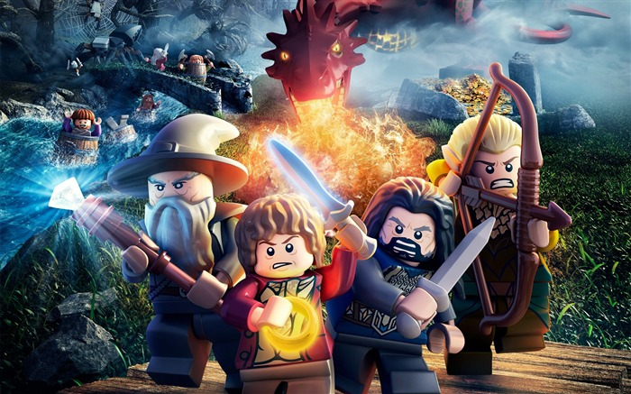 LEGO The Hobbit-Game Wallpapers Views:3825