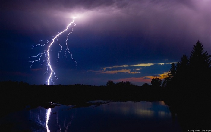 Night storm-Windows Wallpaper Views:2918