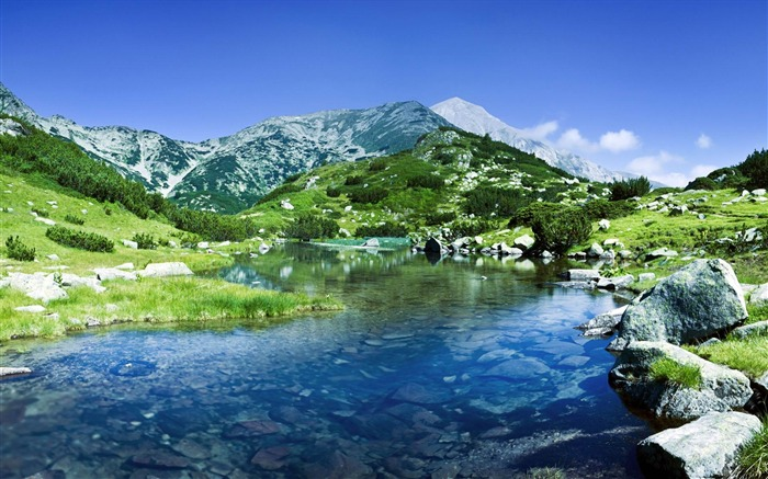 Pirin mountains rivers-Windows Wallpaper Views:3972