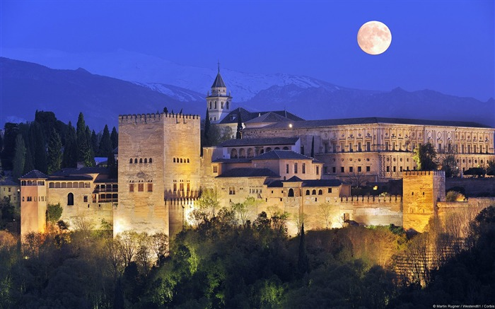 Spain glittering-Windows Wallpaper Views:3957