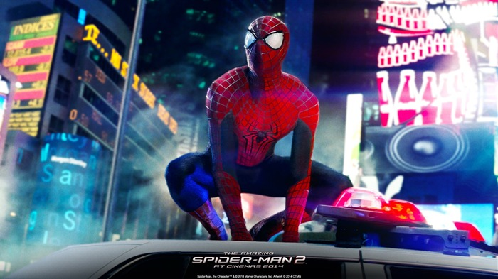 The Amazing Spider-Man 2 Movie HD wallpaper 04 Views:3211