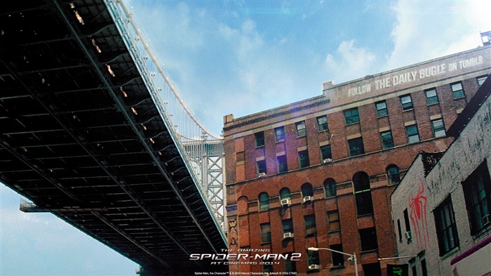 The Amazing Spider-Man 2 Movie HD wallpaper 05 Views:2678