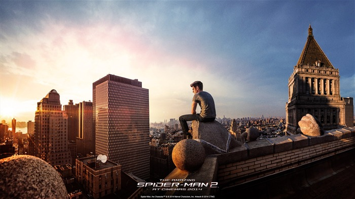 The Amazing Spider-Man 2 Movie HD wallpaper 09 Views:3282