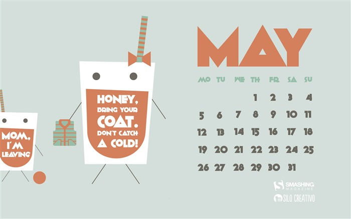 A Maternal Soft Drink-May 2014 calendar wallpaper Views:2936