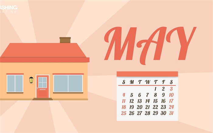 Get Out Of Your House-May 2014 calendar wallpaper Views:2808