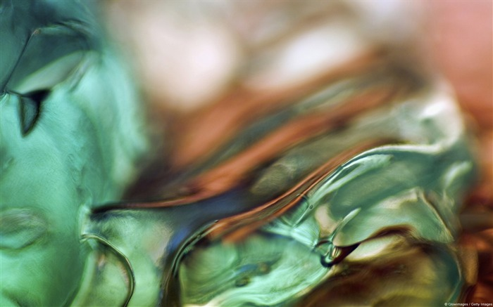Green and orange ice-Windows Photo Wallpaper Views:3555