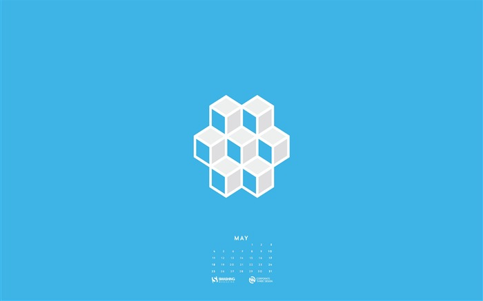 Hex-May 2014 calendar wallpaper Views:2958