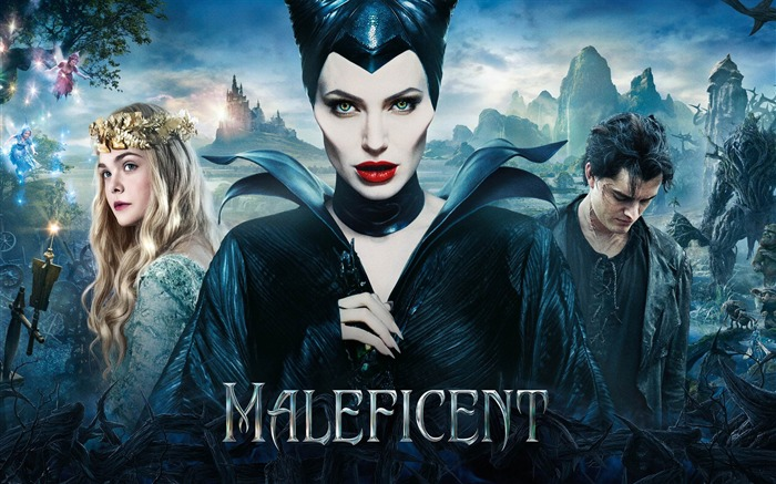 Maleficent 2014 Movie HD Desktop Wallpaper Views:14060