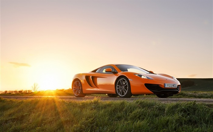 Mclaren mp4 12c orange-Car HD wallpaper Views:2240