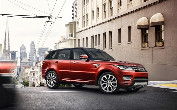 Range Rover Land Rover red-Car HD wallpaper Views:3465