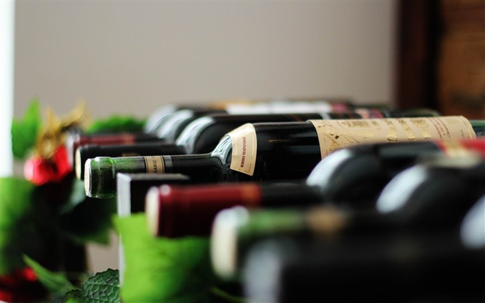 bottles drink wine-High quality wallpaper Views:3186