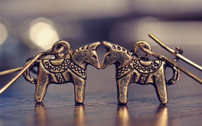earrings horses jewelry-High quality wallpaper Views:3352