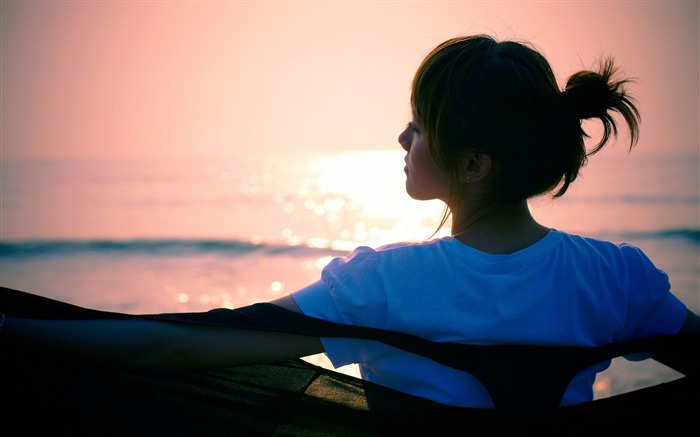 silhouette girl asian-photo wallpapers Views:2386