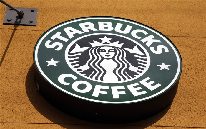 starbucks logo cafe-Brand Desktop Wallpaper Views:4042