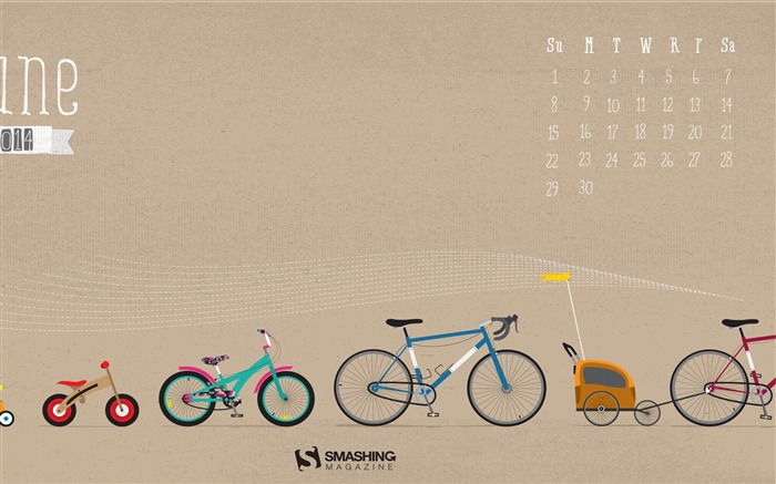 Evolution-June 2014 calendar wallpaper Views:3092
