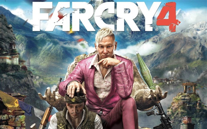 FAR CRY 4 Game HD Desktop Wallpaper Views:11904