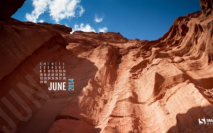 Fisher Towers-June 2014 calendar wallpaper Views:3044