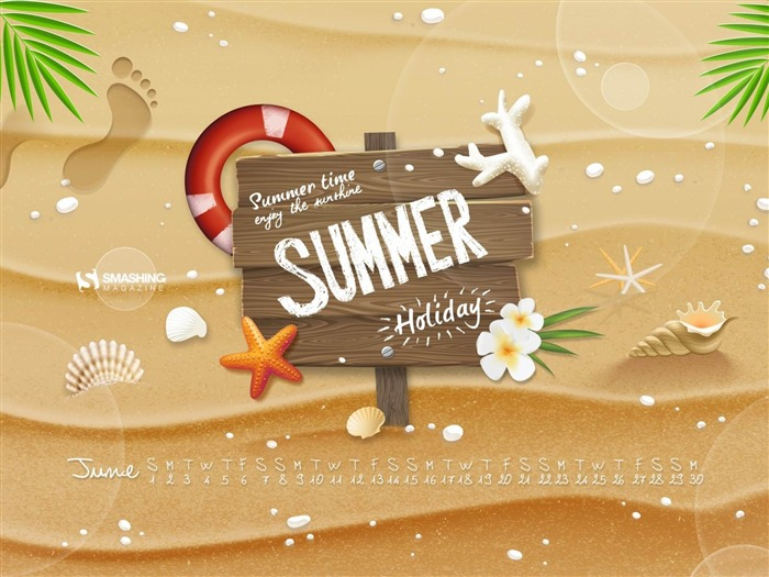 Initiating Summer-June 2014 calendar wallpaper Views:2572