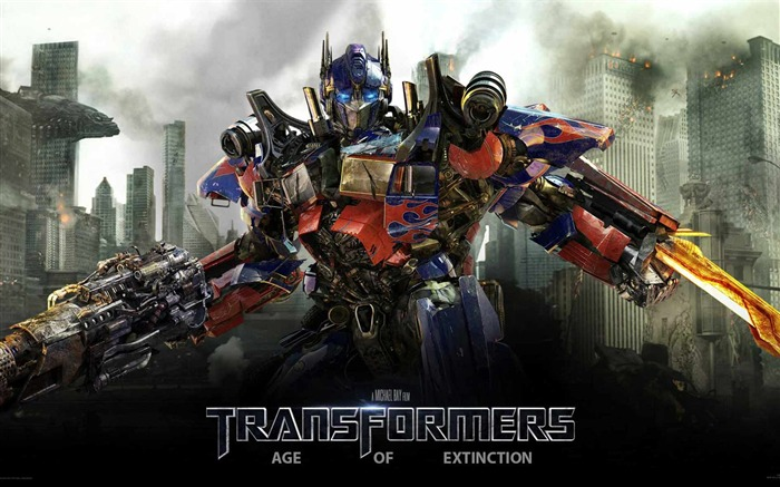 Transformers 4 Age of Extinction Movie HD Wallpaper Views:7518