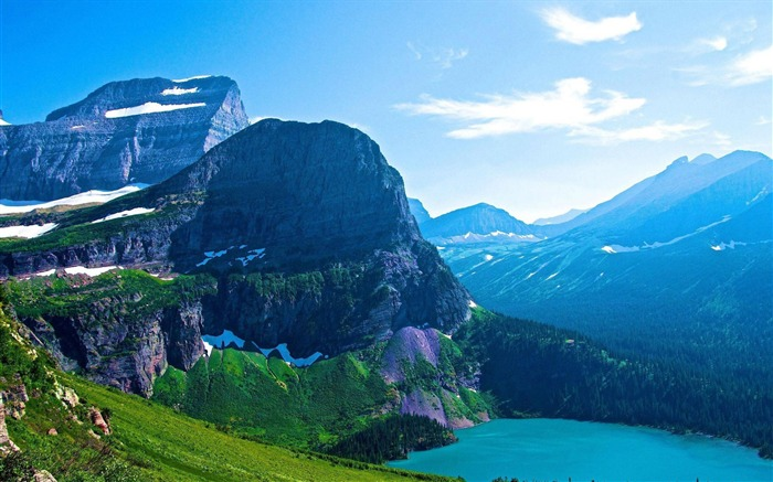 glacier national park-Scenery HD Wallpaper Views:4823 Date:5/28/2014 7:49:32 AM