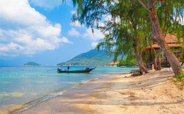 paradise island-Scenery HD Wallpaper Views:9579 Date:5/28/2014 7:52:22 AM