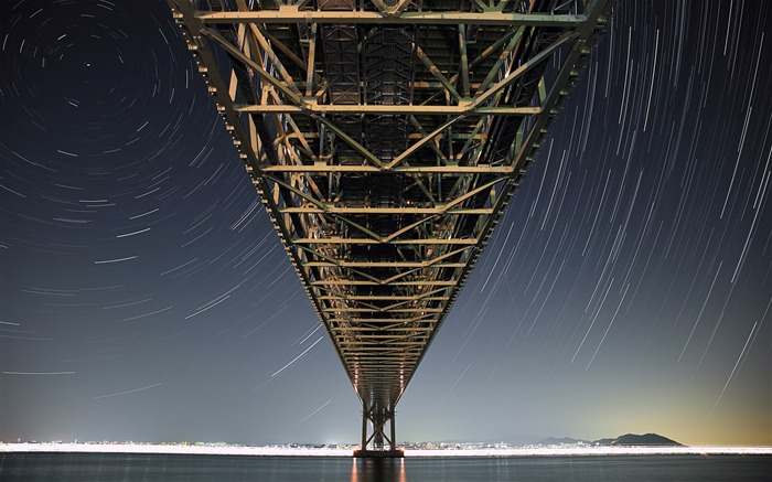 pearl bridge-Scenery HD Wallpaper Views:4226 Date:5/28/2014 7:52:58 AM