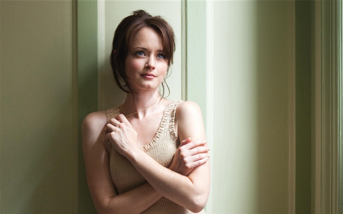Alexis Bledel-photo HD wallpaper Views:3616