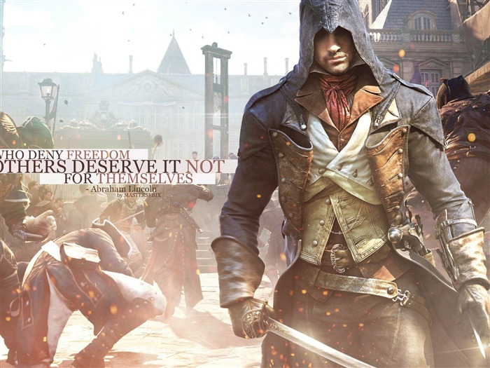 Assassins Creed Unity HD Game Desktop Wallpaper Views:28524