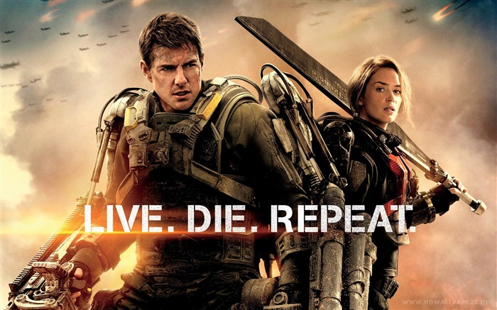 Edge of Tomorrow 2014 Movie HD Desktop Wallpaper Views:9232