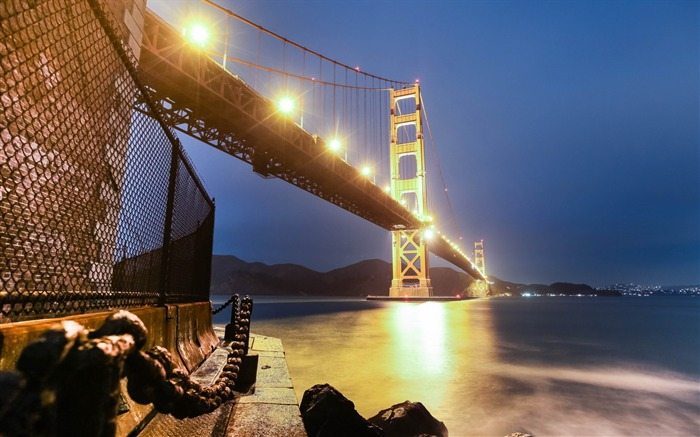San Francisco Golden Gate Bridge Wallpaper 01 Views:2033