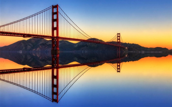 San Francisco Golden Gate Bridge Wallpaper 02 Views:3264