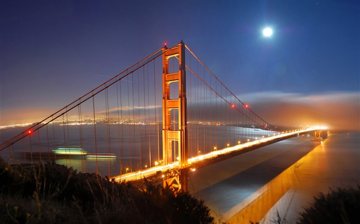 San Francisco Golden Gate Bridge Wallpaper 05 Views:2735