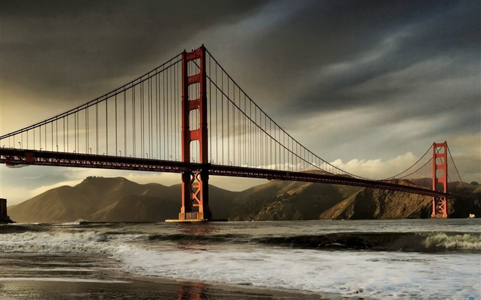 San Francisco Golden Gate Bridge Wallpaper 06 Views:2434