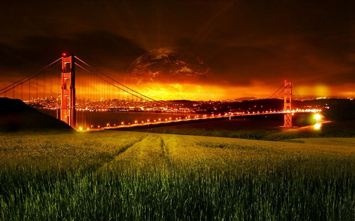 San Francisco Golden Gate Bridge Wallpaper 14 Views:2532