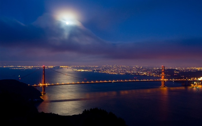 San Francisco Golden Gate Bridge Wallpaper 15 Views:2584