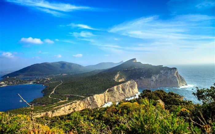 capo caccia italy-Scenery HD Wallpapers Views:5124 Date:6/28/2014 11:30:59 PM